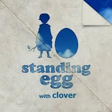 standing egg clover