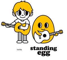 standing egg lucky