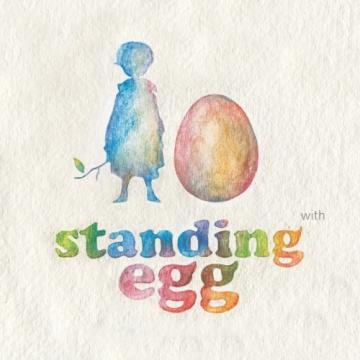 Standing Egg - kiss
