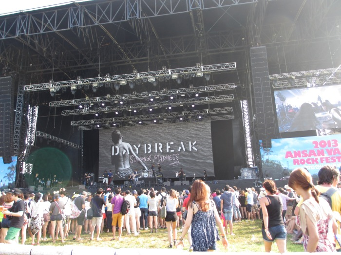 2013 Ansan Valley Rock Fest - Big Top Stage