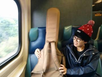 SunYoung on Train